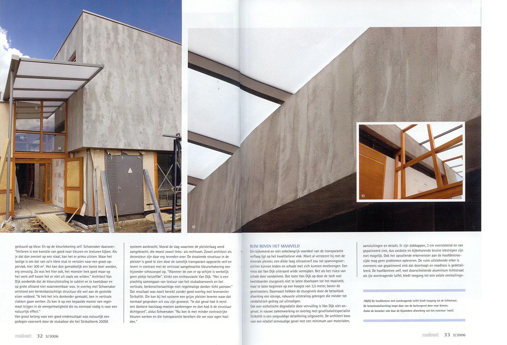 Ruwe bolster, blanke pit, betonlook blz 4 en 5