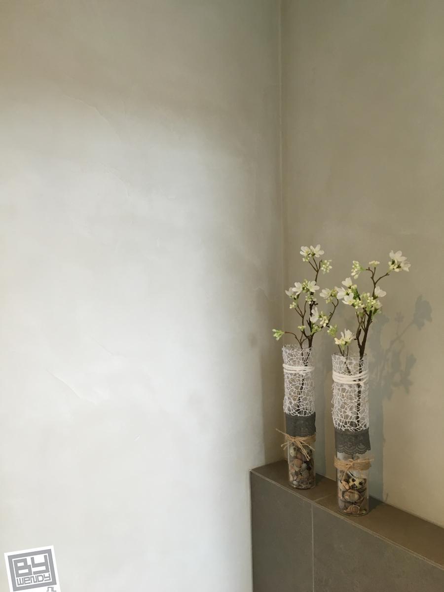 Betoneffect, Heeswijk, zandsteen, Pakhuys badkamer