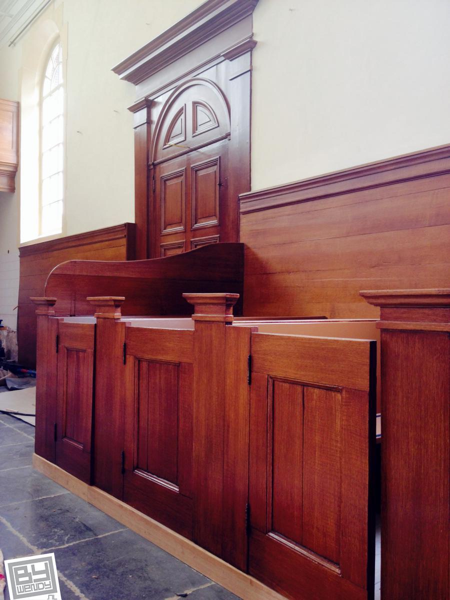 Kerk Baambrugge Houtimitatie- 2014