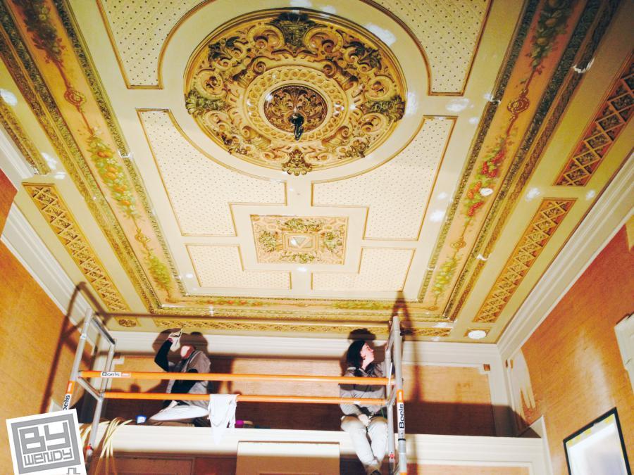 Amsterdam plafond, Wendy Schoenaker