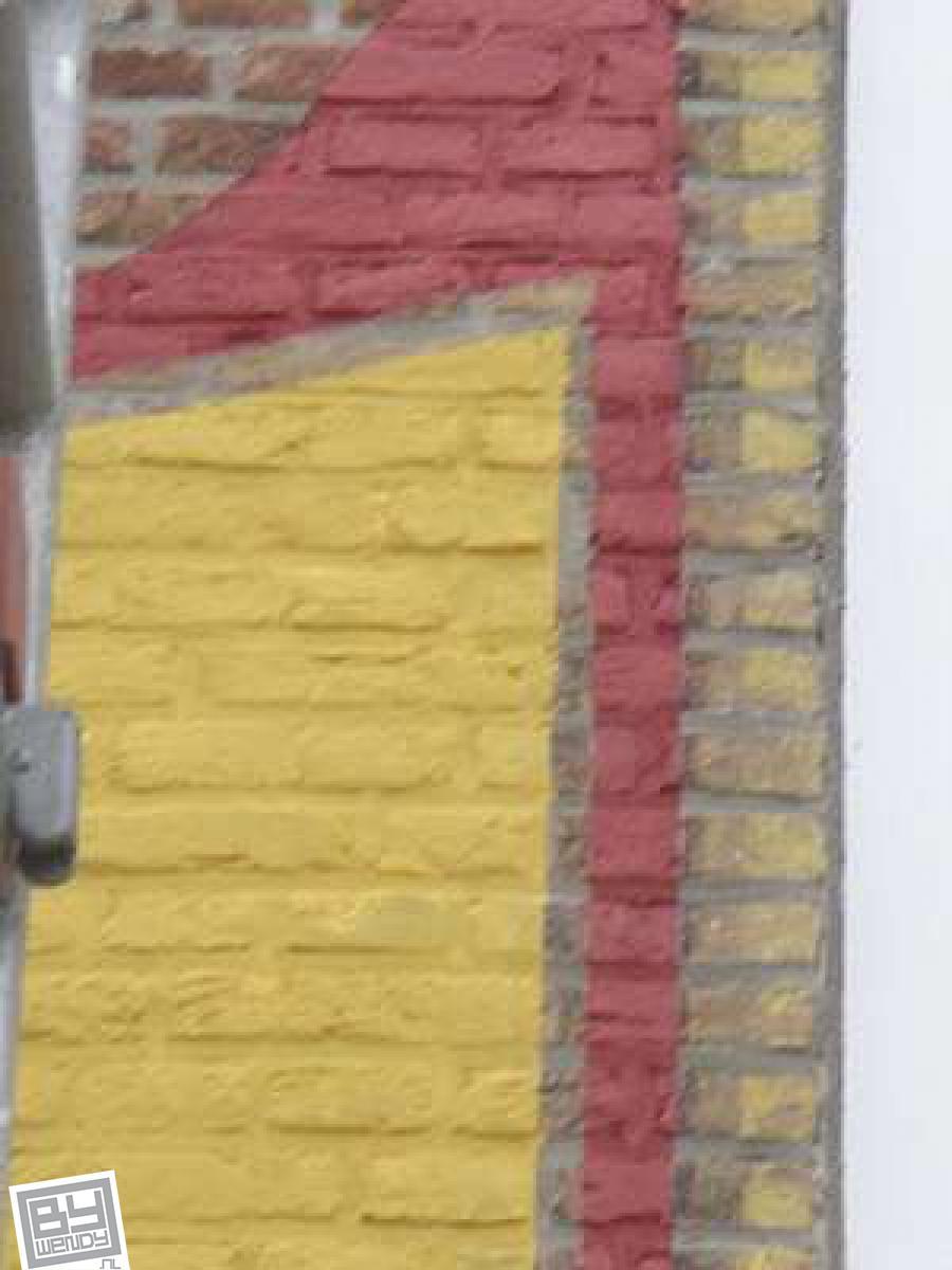 Mei 2007 - Restauratie gevelreclame - Dreischor