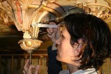 januari 2007 - plafondrestauratie - s-Hertogenbosch