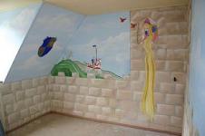 augustus 2006 - schildering kinderkamer