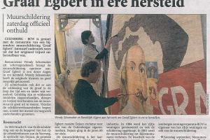 Culemborgse Courant; Graaf Egbert in ere hersteld